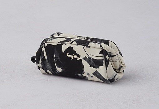 White tassel Boxy Pouch - Small
