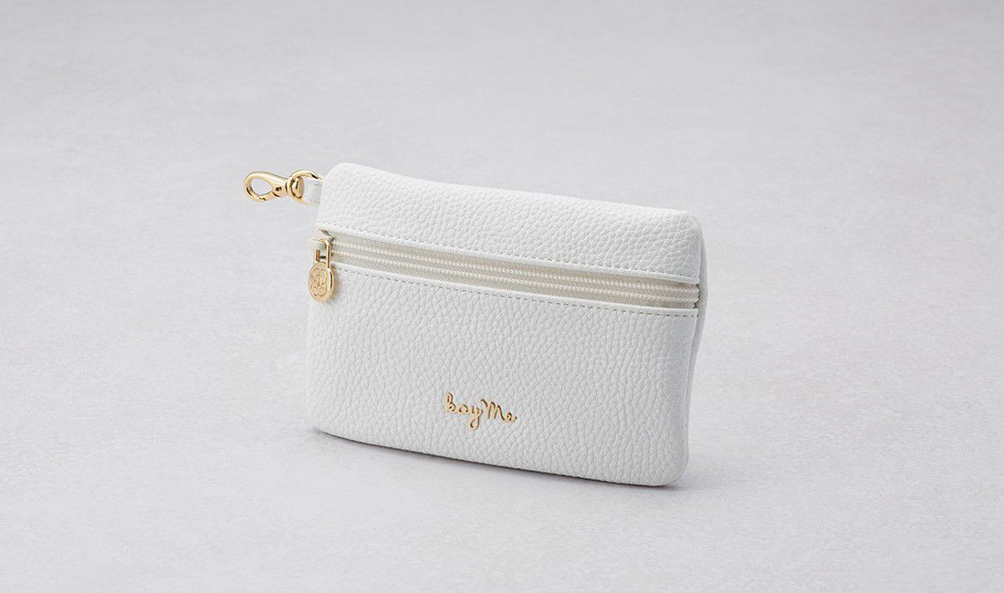 White ​Valuables pouch