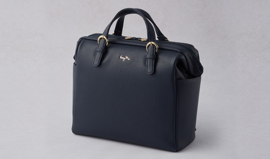 Navy Two-way Business Bag