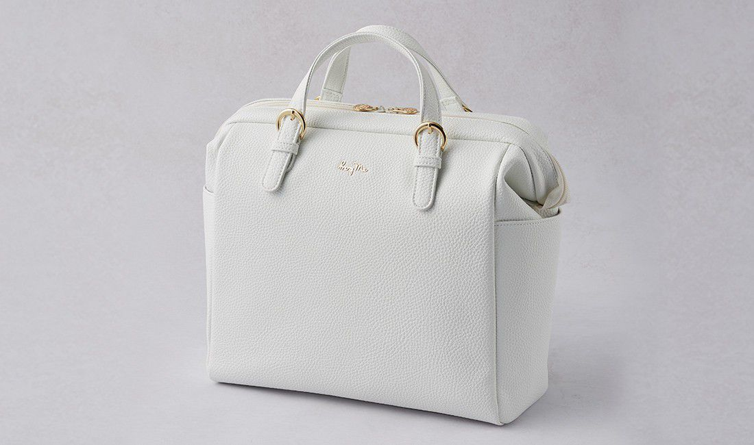 White Two-way Business Bag