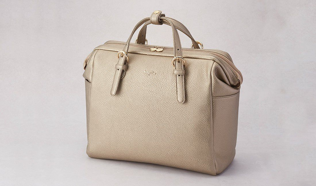 Gold Two-way Business Bag 2.0