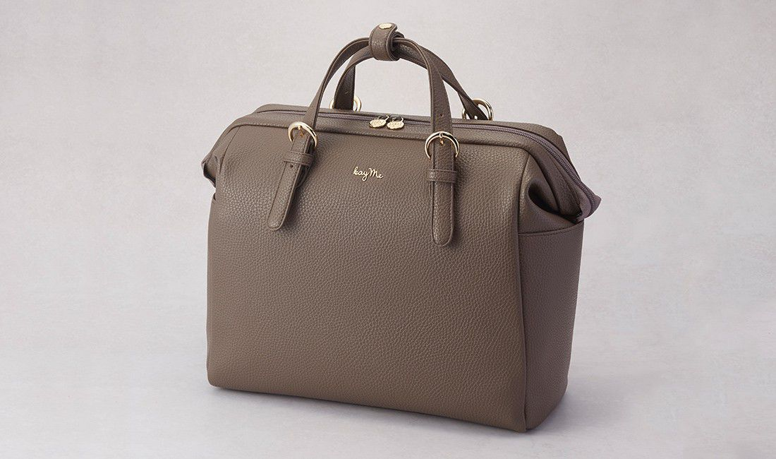 Taupe Two-way Business Bag 2.0
