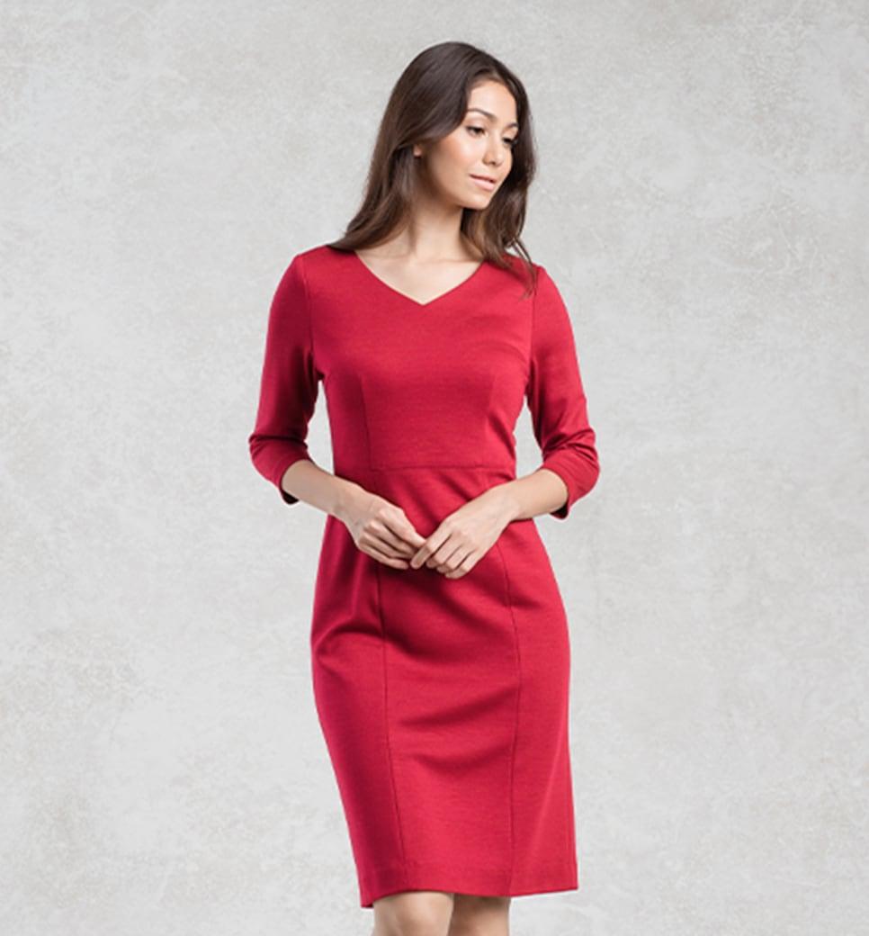 19-1-Carousel-Red-V-Neck-I-Line-Dress.jpg