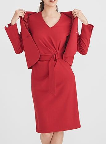 07-Double-Jersey-Red-Daily-V-Neck-Dress.jpg