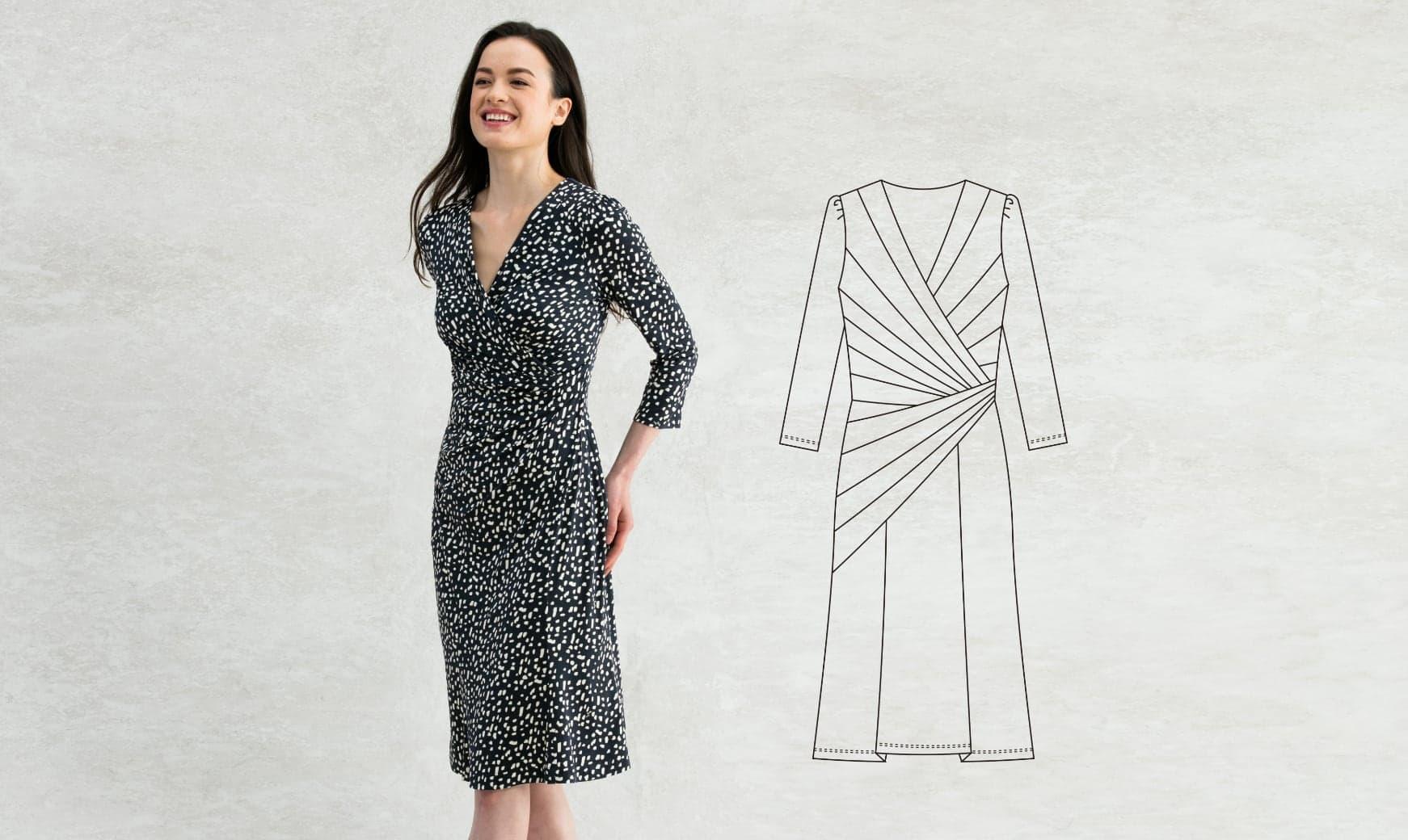 04_Waist_Gather_Navy_Pluie_Dress.jpg