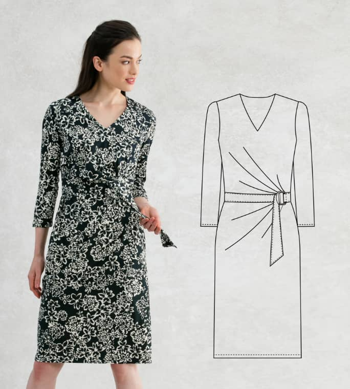 Navy_Flower_VNeck_Daily_Dress_Drawing_Mobile.jpg